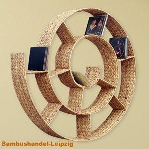 CD Regal Design | CD Regal Wand | 12 x Fächer | Dieses Regal bietet Platz für über 150 CDs  |