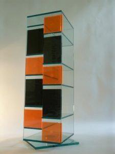 CD Regal Design | CD Regal Glas |Das Fassungsvermögen beträgt 308 CD´s !  | Klarglas