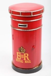 CD Regal Holz | CD Rack | 2 x Fächer |Rot (siehe Bild)